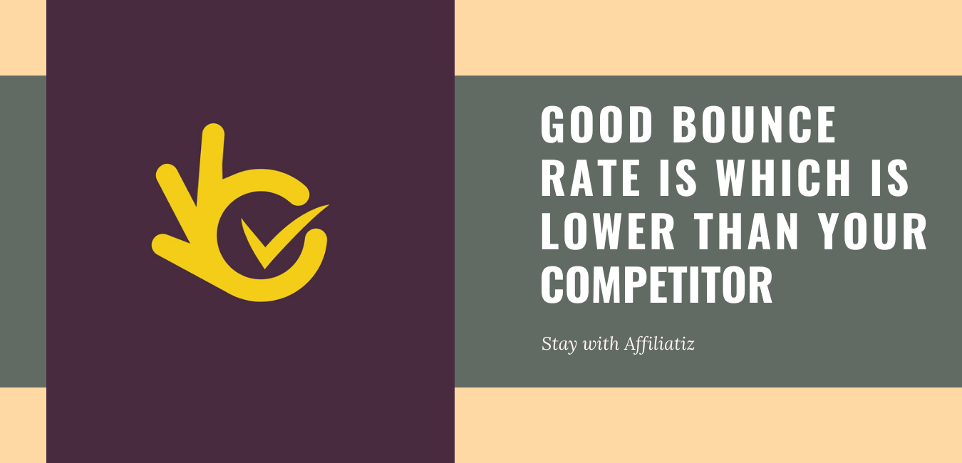 what is the good bounce rate