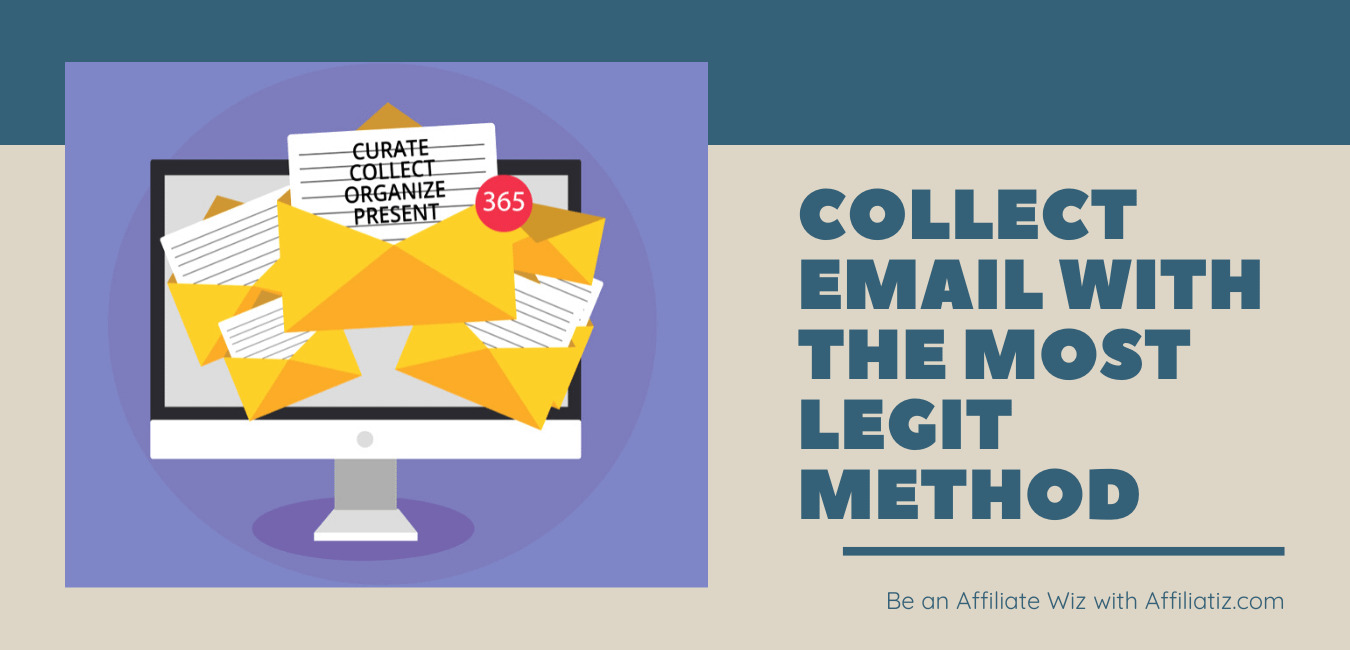 how to collect email address