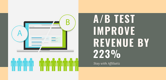 a/b test for increasing landing page conversion rate