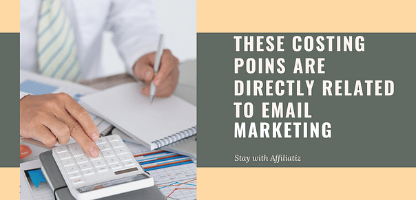 costing points of email marketing