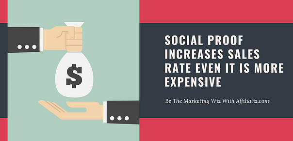How important social proof in sales